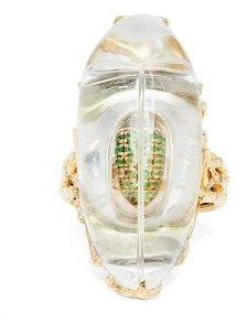 Bibi Van Der Velden - Through The Looking Glass Diamond & 18kt Gold Ring - Gold