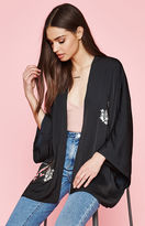 KENDALL + KYLIE Kendall & Kylie Los Angeles Embroidered Kimono