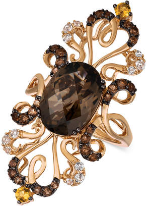LeVian Le Vian Crazy Collection Multi-Gemstone Ring (6-1/4 ct. t.w.) in 14k Rose Gold