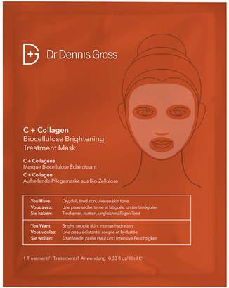 Dr. Dennis Gross Skincare C+ Collagen BioCellulose Brightening Treatment Mask