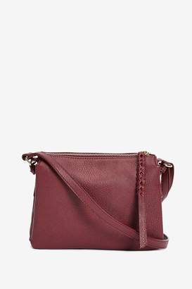 Oasis Womens Red Small Multi Pocket Bag - Red