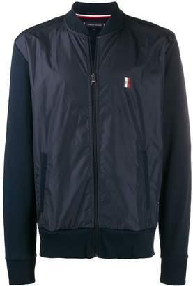 Tommy Hilfiger panelled sports jacket