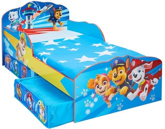 Paw Patrol Toddler Bed with Storage Drawers by HelloHome