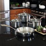 Chantal Induction 21 Steel 7-Piece Cookware Set in Stainless Steel