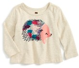 Tea Collection Infant Girl's Hedgehog Graphic Tee