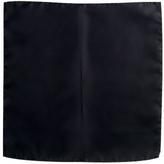 Forzieri Black Silk Pocket Square