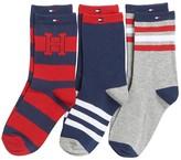 Tommy Hilfiger Crew Socks 3pk