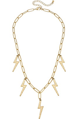 Canvas Jewelry Thunderbolt Chain Necklace