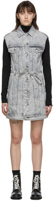 Rag & Bone Grey Trucker Dress