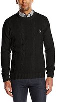 U.S. Polo Assn. Men's Cable-Knit Sweater