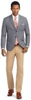 Brooks Brothers Milano Fit Two-Button Check Sport Coat