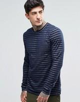 Minimum Long Sleeve Striped T-Shirt
