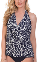 Magicsuit Black & White Tiki Sophie Tankini Top