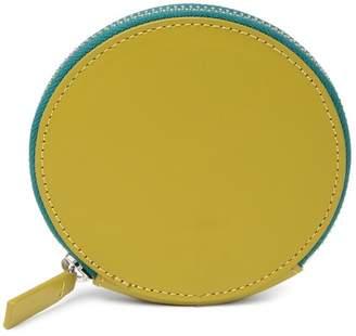 Baggu Leather Circle Wallet