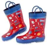 Stephen Joseph Sports Rain Boot in Red
