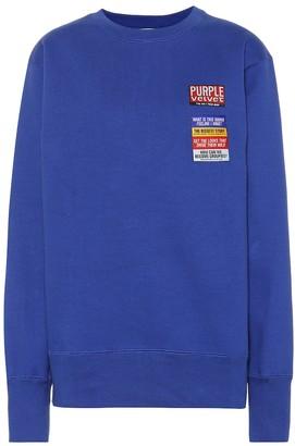Eytys Lennox Patch cotton-blend sweater
