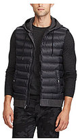 Polo Ralph Lauren Down-Panel Double-Knit Full-Zip Hybrid Vest