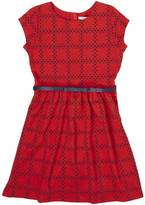 Nautica Little Girls' Ponte Cap Sleeve Dress (2T-7)