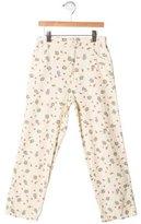 Marni Junior Girls' Printed Straight-Leg Pants
