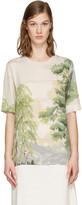 Stella McCartney Beige Landscape T-Shirt