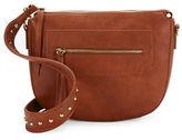 Envy Faux Leather Saddle Bag