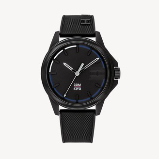 Tommy Hilfiger Watch with Black Silicon Strap