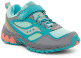 Saucony Excursion Shield Trail Shoe - Wide Width Available (Little Kid)