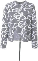 Proenza Schouler embroidered knitted sweater