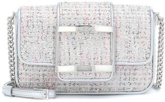 Roger Vivier TrAs Vivier Small tweed shoulder bag