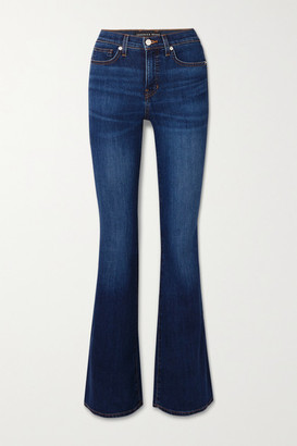 Veronica Beard Beverly High-rise Flared Jeans - Blue