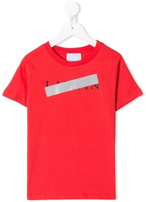 Lanvin Enfant censored logo T-shirt