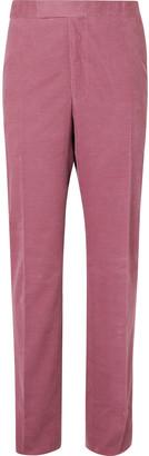 Richard James Pink Hyde Cotton-Corduroy Suit Trousers