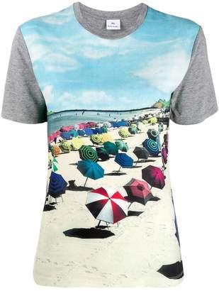 Paul Smith beach print T-shirt