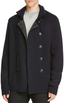 Vince Wool Pea Coat Sweater