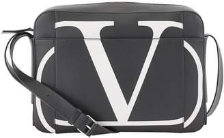 Valentino Garavani VLTN leather messenger bag