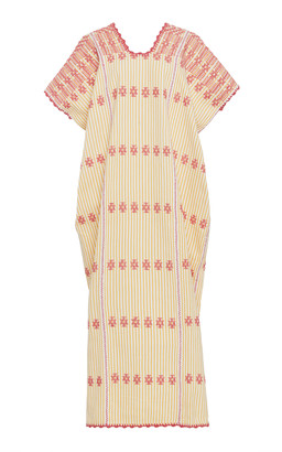 Pippa Holt Embroidered Cotton Caftan