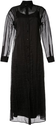 Maison Margiela Sheer Shirt Dress