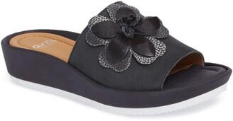 ara Thea Wedge Slide Sandal
