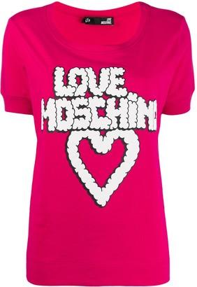 Love Moschino graphic T-shirt