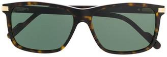 Cartier tortoiseshell frame sunglasses