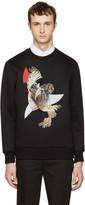 Neil Barrett Black Owls Pullover