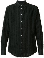 Tom Rebl embroidered shirt - men - Cotton - 46