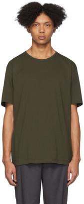 Issey Miyake Khaki Bio T-Shirt