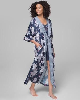 Soma Intimates Short Sleeve Long Robe