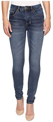 Tribal Five-Pocket Knit Denim 31 Jegging in Medium Wash (Medium Wash) Women's Jeans