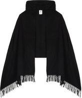Max Mara Fenice wool hooded poncho