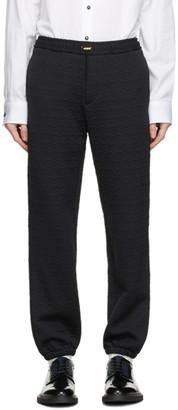 Paul Smith Black Jacquard Sweatpants