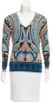 Etro Cashmere & Silk-Blend Sweater