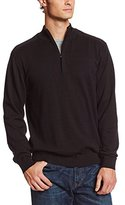 Cutter & Buck Men's Big-Tall Broadview Half Zip Sweater