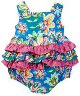 Iris & Ivy Abstract Floral Print Bodysuit (Baby Girls)